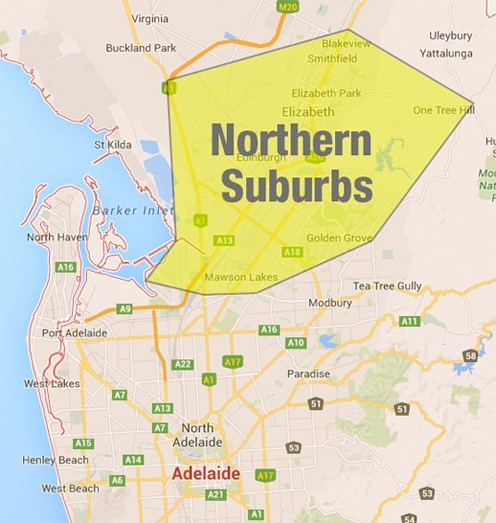 North eastern suburbs adelaide